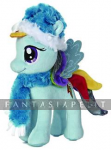My Little Pony: Rainbow Dash Fuzzy Hat & Scarf 10 Inch Plush