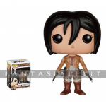 Pop! Attack on Titan Vinyl Figure: Mikasa Ackermann