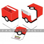Pokemon Deck Box Red & White