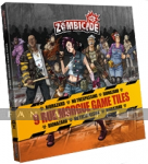 Zombicide Dice: Tokens & Tiles -Rue Morgue Game Tile Pack
