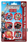 Marvel Heroclix Avengers Assemble Dice and Token Pack: Captain America