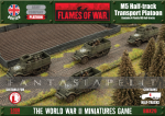 M5 Halftrack Transport Platoon (Plastic)