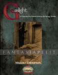 Savage Worlds: Gaslight Victorian Fantasy