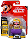 World of Nintendo - Super Mario 4 Inch Action Figure: Wario
